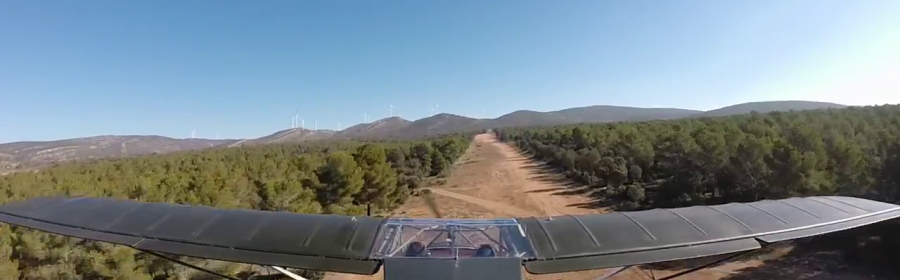 Aeródromo la Yosa forestal