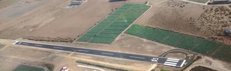 Aeródromo Totana asfaltado