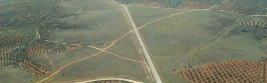 Aeródromo Terrinches fumigación.