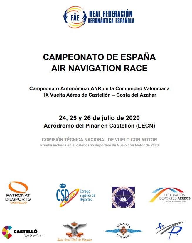 CAMPEONATO DE ESPAÑA AIR NAVIGATION RACE