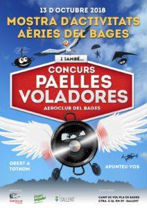 Concurso paellas voladoras en el aeródromo Sallent-Club Pla de Bages
