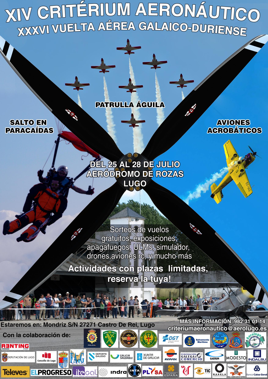 Criterium aeronáutico Vuelta a Galicia