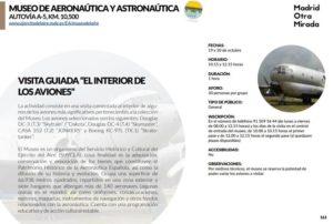 El Museo de Aeronáutica y Astronáutica edición 2018 de 'Madrid Otra Mirada'