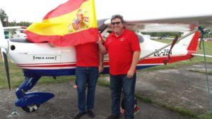 Entrenamiento para el Air Navigation Race