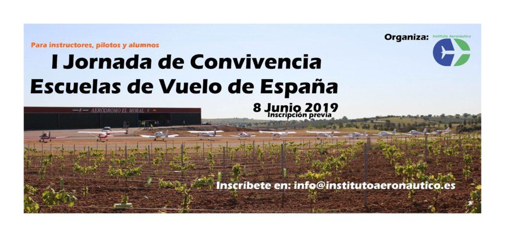 I Jornada de Convivencia Escuelas de Vuelo de España