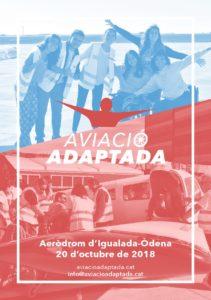 Jornada de aviación adaptada en el aeródromo Igualada Òdena