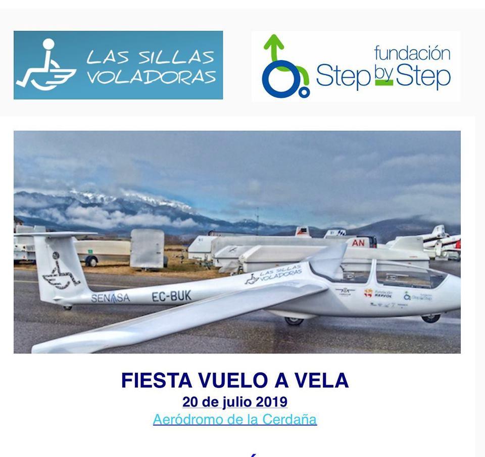 Jornada de vuelo a vela adaptada en el Aeródromo de La Cerdaña