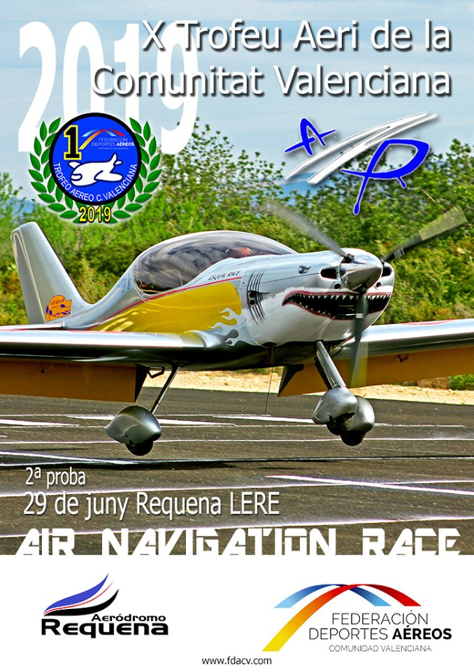 Prueba TACV 2019 ANR-Air Navigation Race Requena
