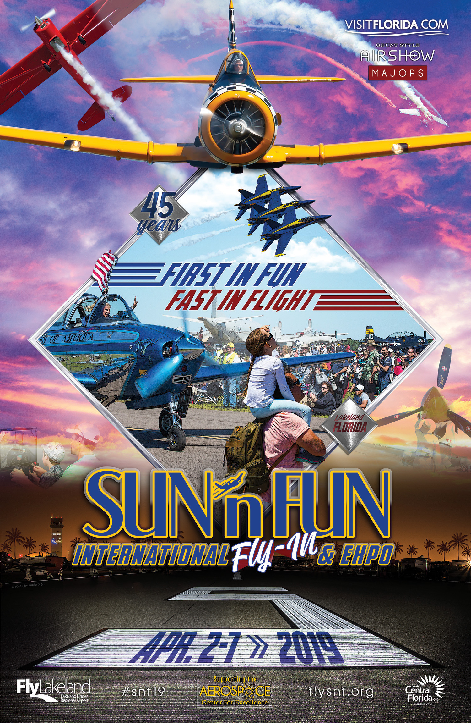 SUN 'n FUN Int'l Fly-In Expo - Abril 2 - 7, 2019 ...