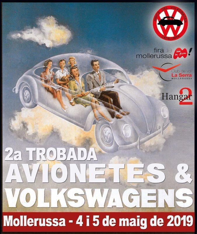 2a Trobada Avionetes & Volkswagens a Mollerussa
