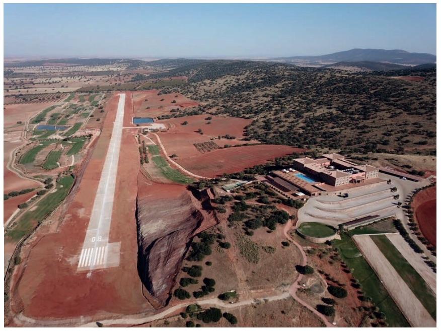 Aeródromo La Caminera pista