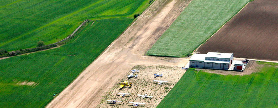 aeródromo villarubia