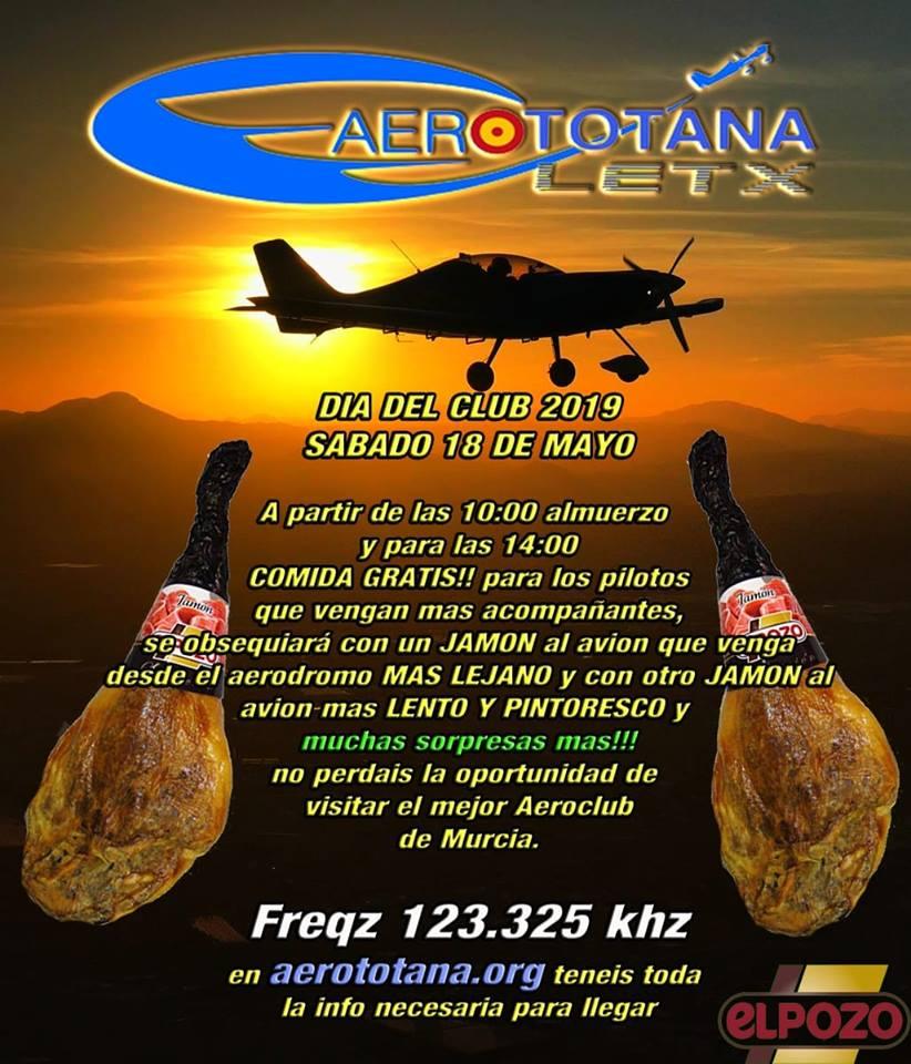 Día del club Aerototana LETX