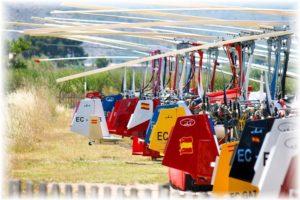 Girospain 2019 en el aeródromo de Camarenilla