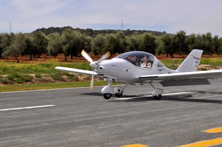 Pista del aeródromo de Loja