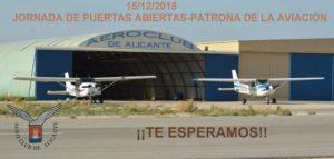 puertas abiertas Aeroclub Alicante